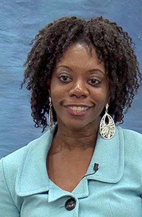 Ruby Mendenhall, Associate Professor in Sociology, African American Studies, on the Spotlight on Poverty and Opportunity webcast.