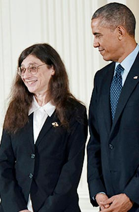 Entomologist May Berenbaum has received the National Medal of Science, the nation's highest honor for achievement and leadership in advancing the fields of science and technology.