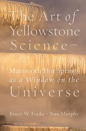 Cover of The Art of Yellowstone Science book