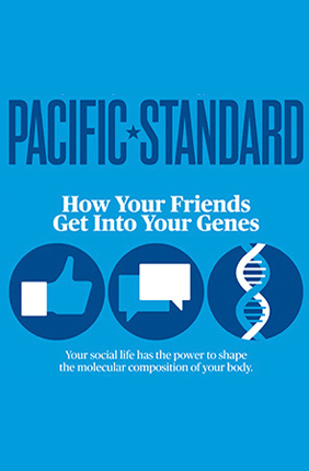 "IGB Director Gene Robinson is featured in a recent Pacific Standard magazine cover article by David Dobbs, entitled ""The Social Life of Genes."""