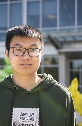 Xiaoqiang Huang, Chemical and Biomolecular Engineering Postdoctoral researcher in the Zhao lab, led the study.