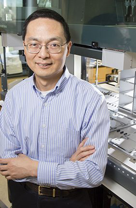 Professor Huimin Zhao, Steven L. Miller Chair of Chemical and Biomolecular Engineering, will lead the Molecule Maker Lab Institute with a multi-institutional team.