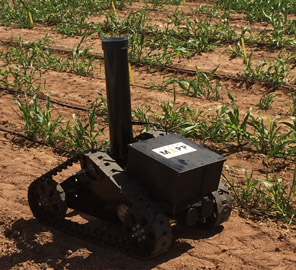 Researchers from the IGB among many others demonstrated prototypes of several crop-monitoring systems during a day-long event at Arizona's Maricopa Agricultural Center supported by DOE's ARPA-E.