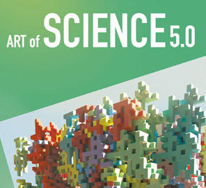 The 'Art of Science: Images from the Carl R. Woese Institute for Genomic Biology,' now in its fifth year, will hold its opening reception on April 23, 6:00pm, at the indi go Artist Co-op in Champaign.