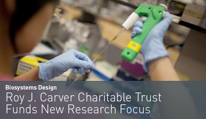 Roy J. Carver Charitable Trust Funds New Research Focus