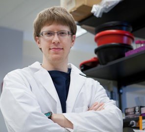 Brandon Burkhart, a graduate student in Doug Mitchell's lab, was recently awarded a Graduate Research Fellowship from the National Science Foundation.