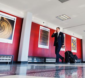 IGB Art of Science Images Featured at O'Hare Airport