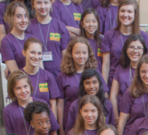 Pollen Power! camp participants forecast a bright future for women in plant science