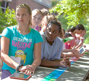 Campers Explore Past and Future of Global Climate at Summer Camp