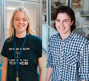 IGB Welcomes Two Woese Undergraduate Research Scholars
