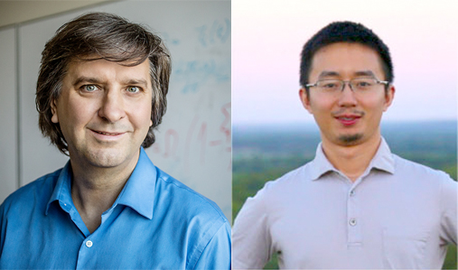 Professor of Bioengineering and Bliss Faculty Scholar Sergei Maslov (left) with first author and Brookhaven National Laboratory research associate Fei He (right) used over 7000 samples from more than 200 labs to create a standardized atlas.