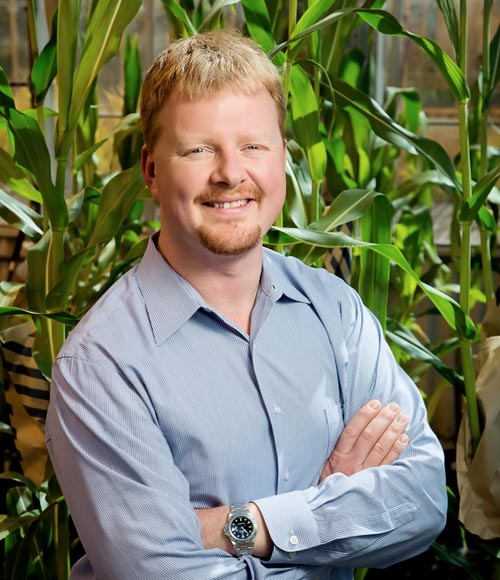 Andrew Leakey, Associate Professor of Plant Biology, will lead a multi-institutional team to increase the water use efficiency of sorghum