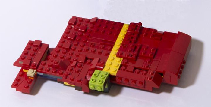 LEGO model of a liver. Alternative splicing generates mRNA diversity to support liver development.