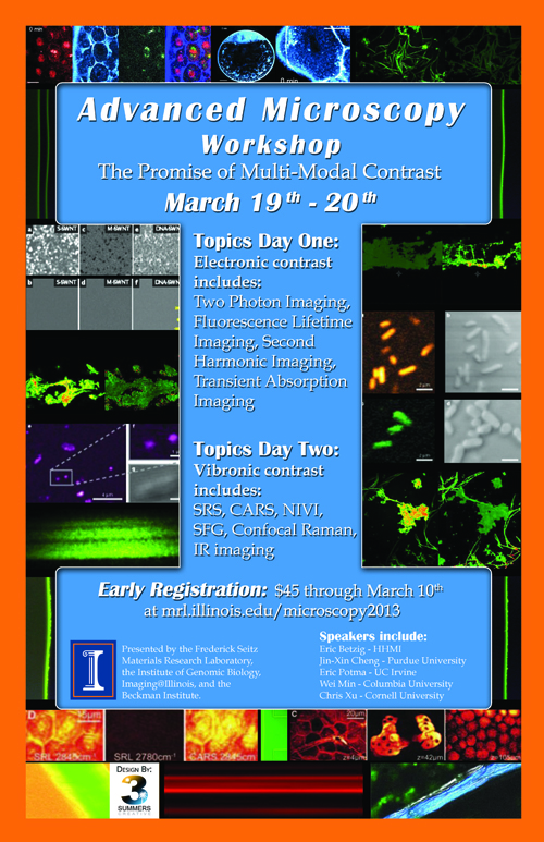 Advanced Microscopy Workshop - March 19 & 20, 2013