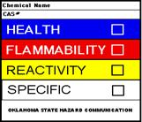 MSDS Sign graphic