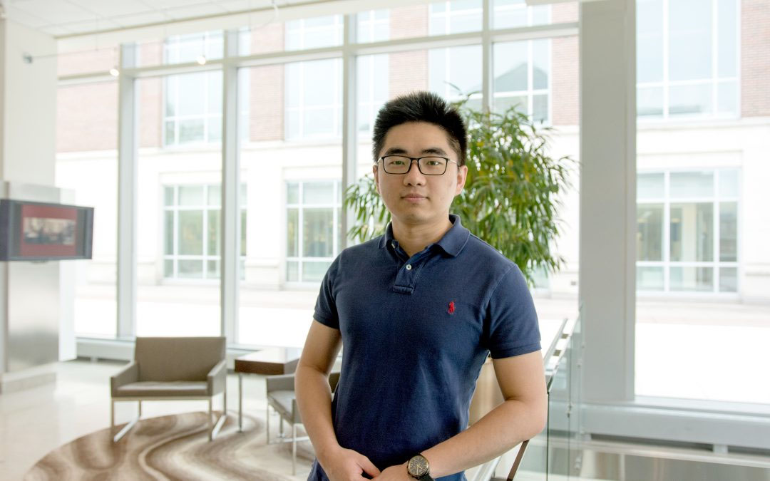 Lead author Pu Xue is a Chemical and Biomolecular Engineering doctoral student with the Zhao lab at CABBI.