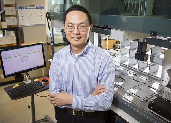 Professor Huimin Zhao, Steven L. Miller Chair of Chemical and Biomolecular Engineering.